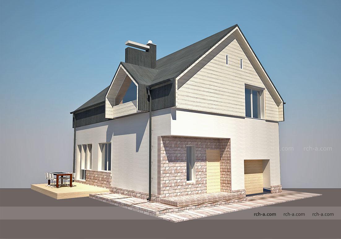 Архитектура частного дома Современный стиль