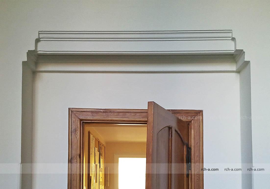 Архитектурное оформление проема в несущей стене