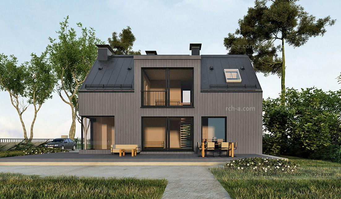 Крыша без свесов проект 2