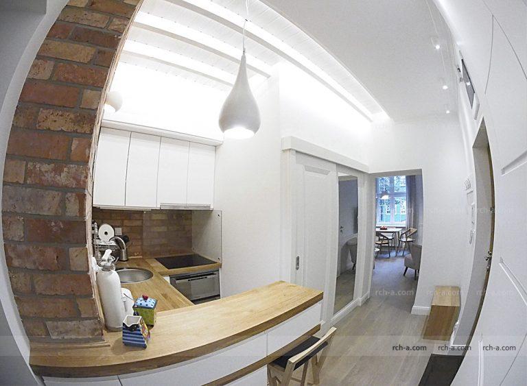 Дизайн квартиры в историческом центре Гданьска