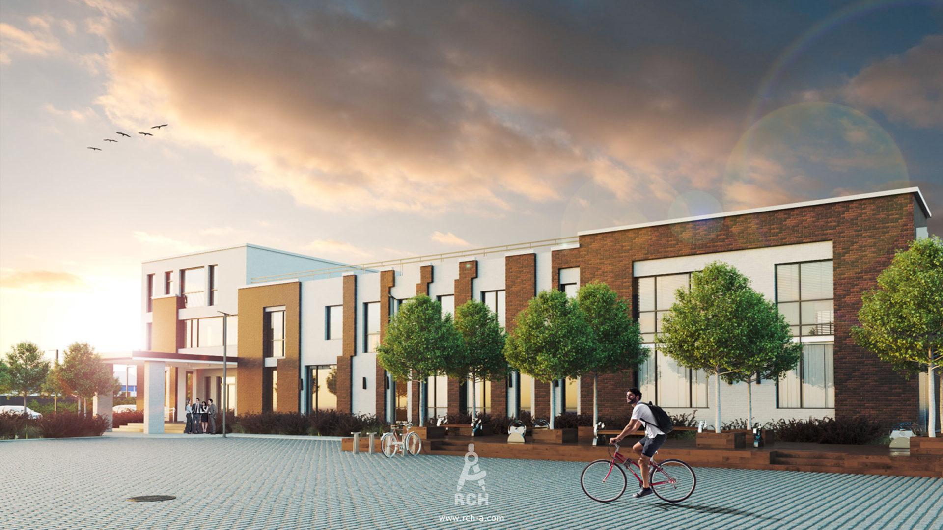 архитектор комплексный проект офисный центр коверкинг в современном стилер