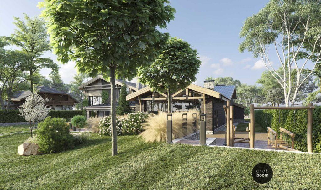 комплексный проект архитектура  и ландшафт