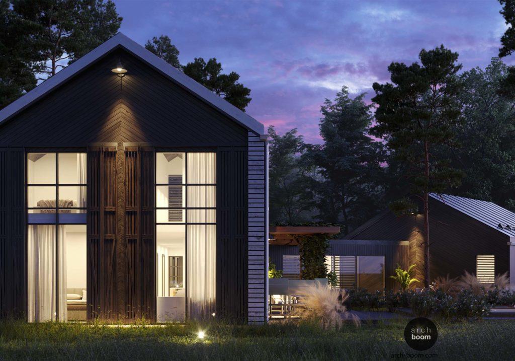 Дом-амбар Barn-house проект