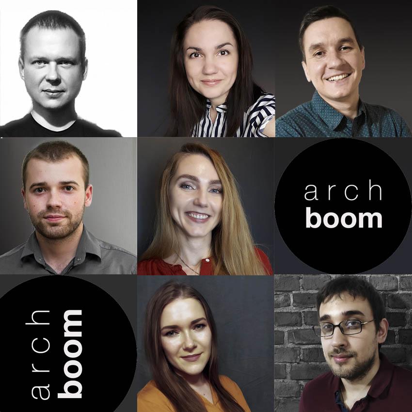 проектная группа архитектурного бюро профессионалы arch-boom