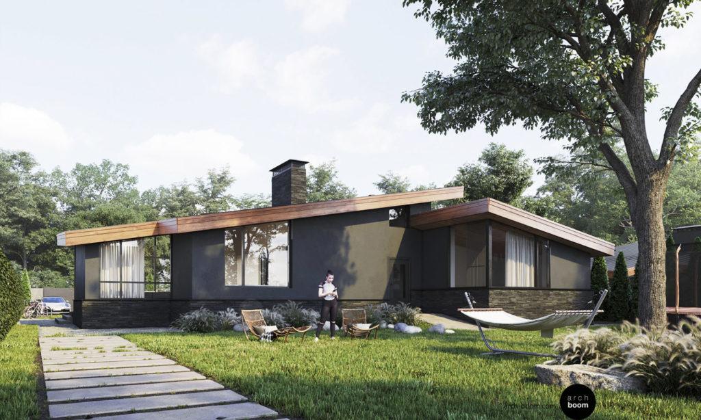 проект скандинавского дома до 150 м2
