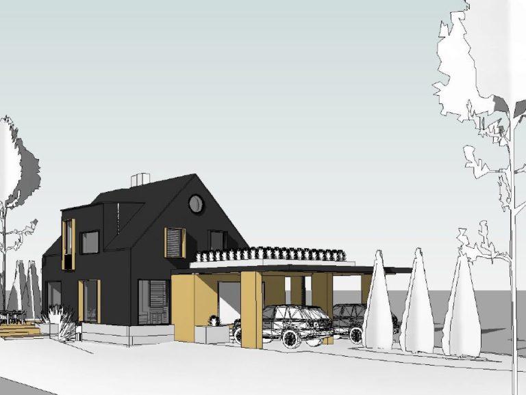 Барнхауз в Норвегии, Larvik (проект реконструкции дома)
