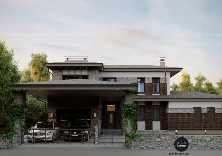 Дом в стиле Райта – архитектура вне времени