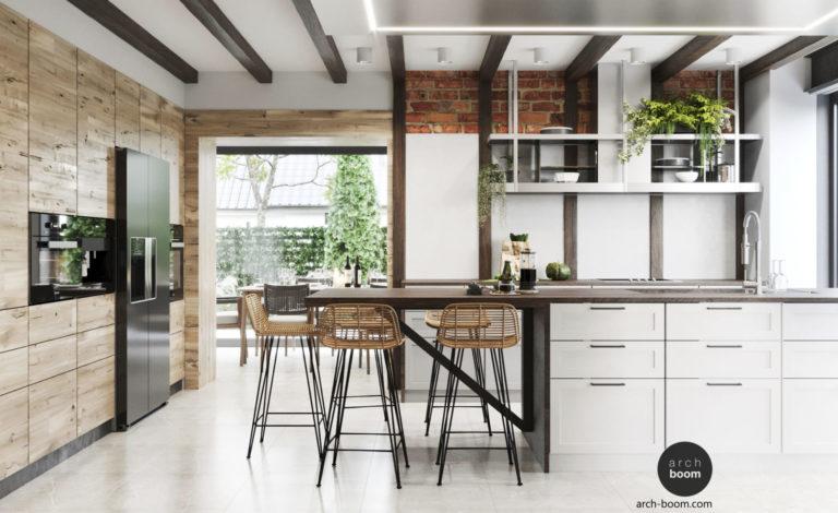 Реконструкция жилого дома: Интерьер