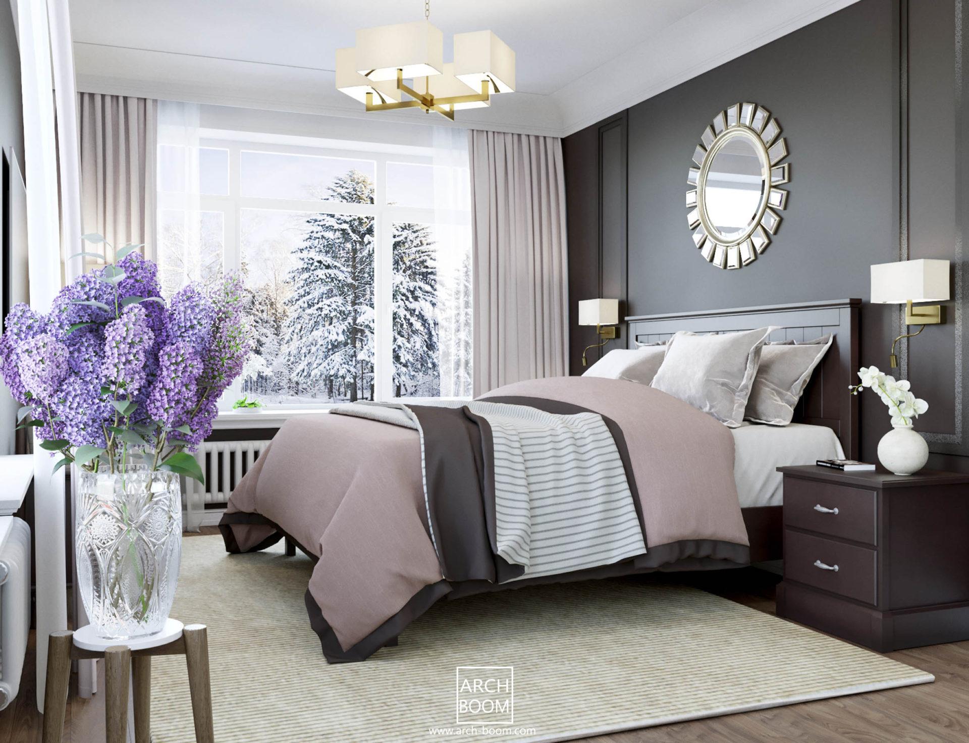 sypialnia wlascicieli y lazienka