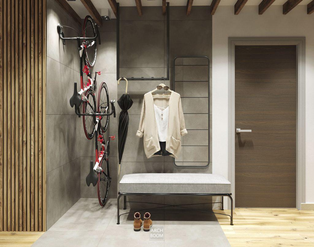 Sposób na przechowywanie rowerów w mieszkaniu