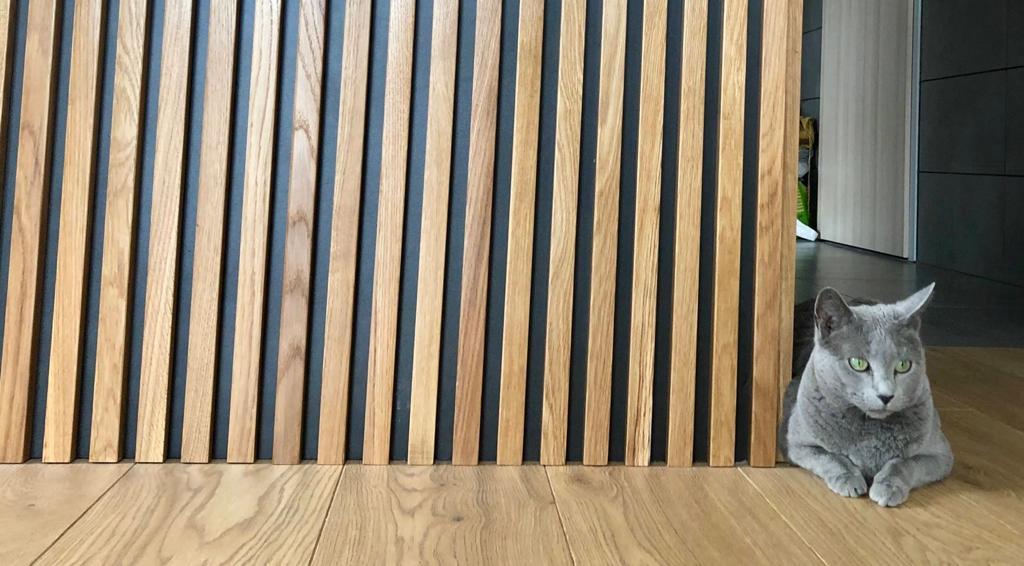 drewniane lamele