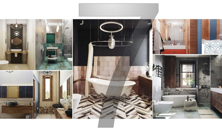 7 inspirujących łazienek od ARCH-BOOM
