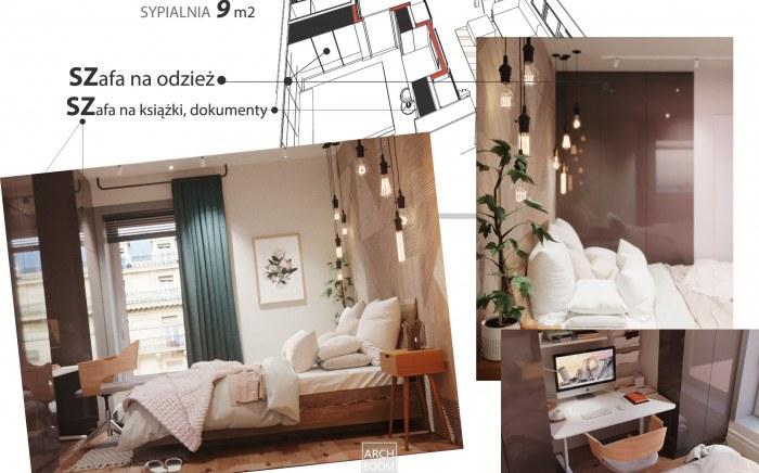 Jak zmieścić dużą szafę w sypialni