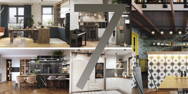 7 projektów kuchni od ARCH-BOOM