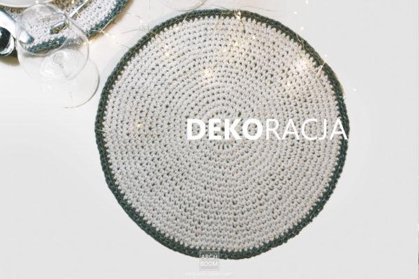 Dekoracja stołu: Podkładka pod talerz