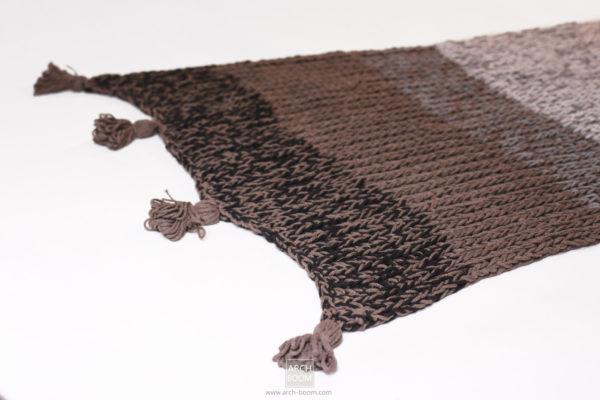 Narzuta na łóżko: z efektem ombre w odcieniach brązu