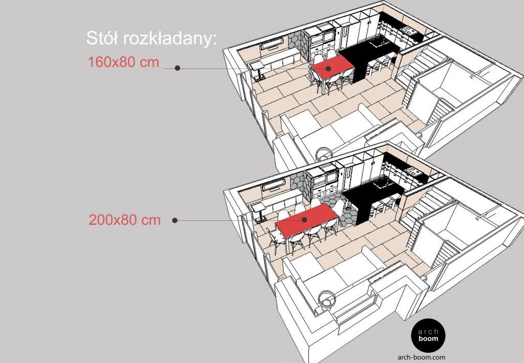 rozplanowanie mieszkania elastyczne rozwiązania