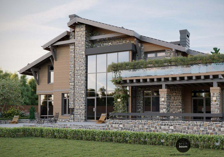 Chale – dom w stylu alpejskim