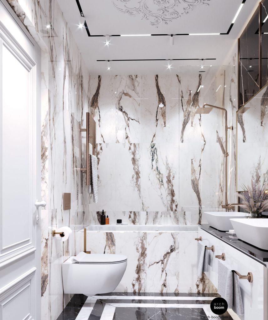 salon kosmetyczny łazienka