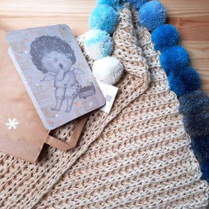 kocyk bawełniany dla noworodka